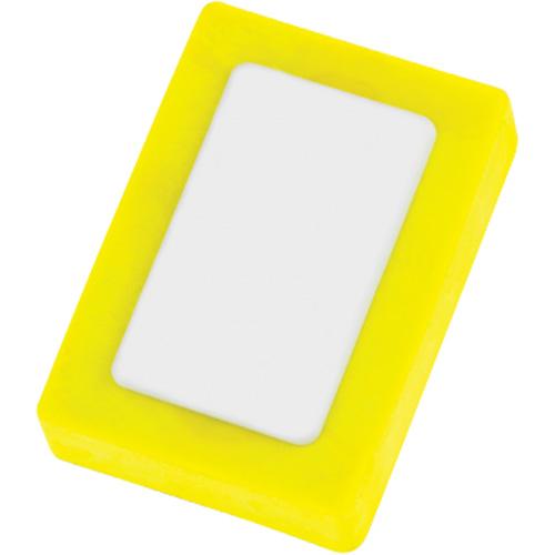 Eraser - Snap in fluorescent-yellow