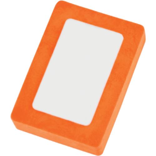Eraser - Snap in orange
