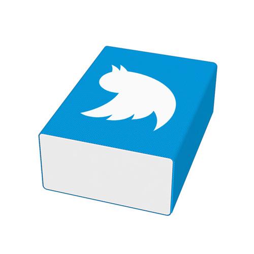 Blocki Microfiber Cleaning Pad in blue