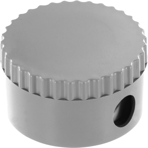 Pencil Sharpener in white