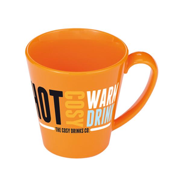 Supreme Mug in orange
