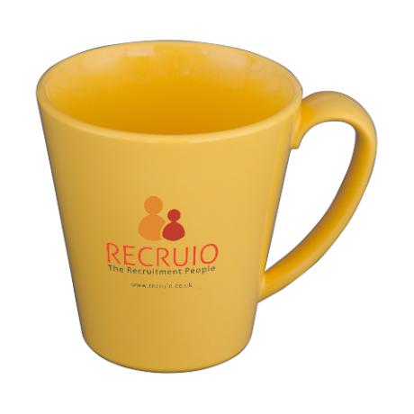 Supreme Mug in yellow