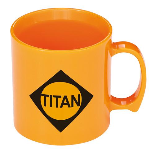Standard Mug in orange
