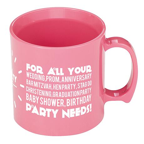 Standard Mug in pink