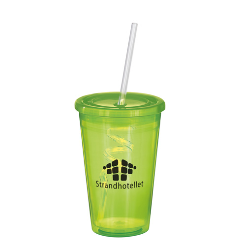Stadium Cup in lime-curly