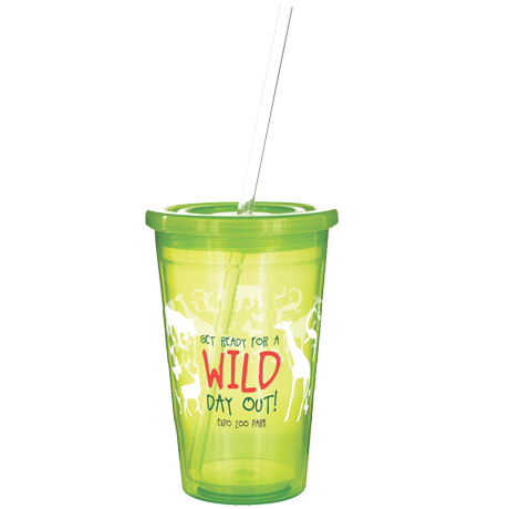 Stadium Cup in trans-lime