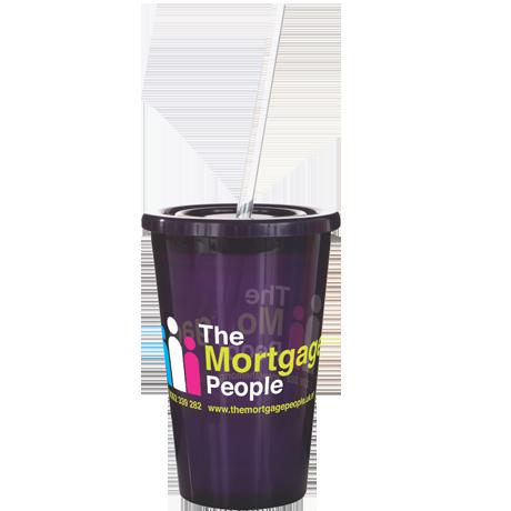 Stadium Cup in trans-purple