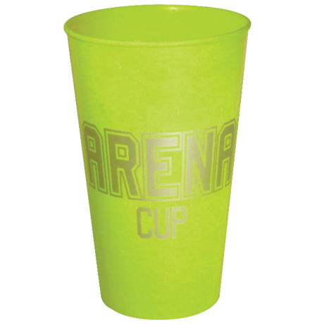 Arena Cup in lime