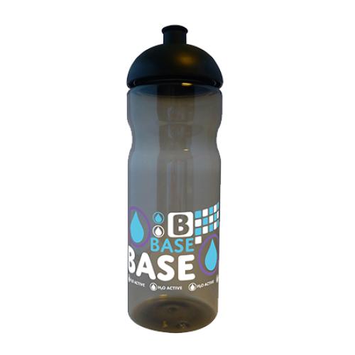Base Sports Bottle in translucent-charcoal