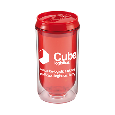 Can Cup in red