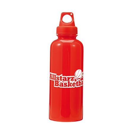 Splash Water Bottle in red