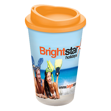 Brite-Americano® Mug in orange