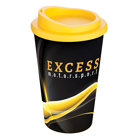 Brite-Americano® Mug in yellow
