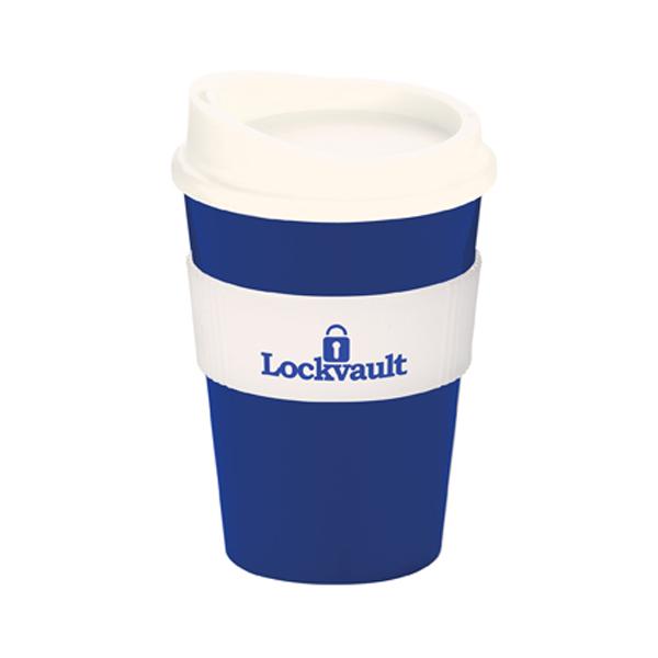 Americano® Medio Mug in blue-and-white