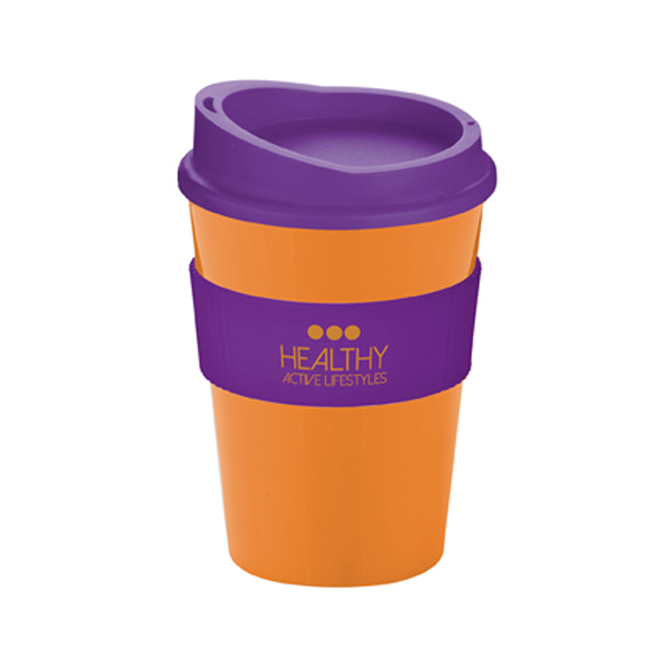 Americano® Medio Mug in orange-and-purple