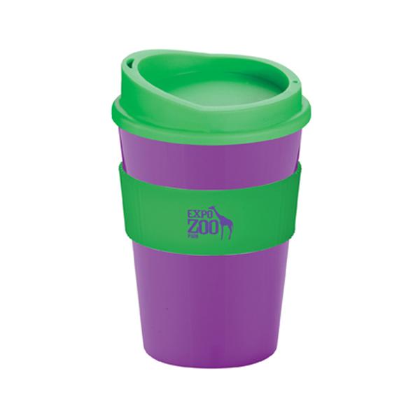 Americano® Medio Mug in purple-and-green