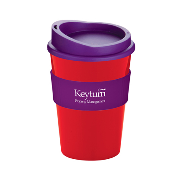 Americano® Medio Mug in red-and-purple