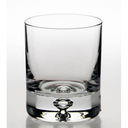 Bulk packed bubble based whisky glass