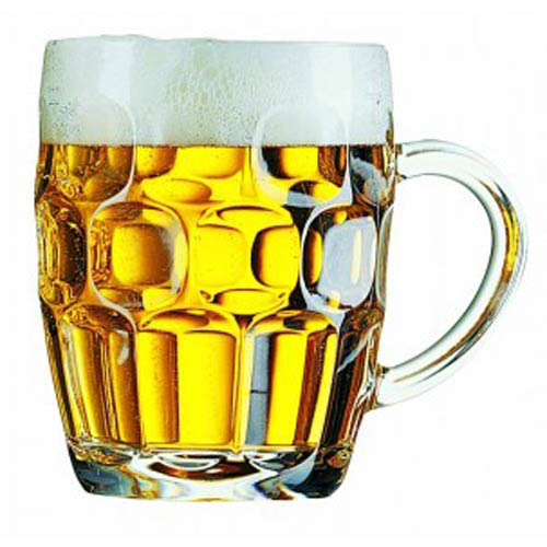 Brittania Old Fashioned Half Beer Tankard bulk packed