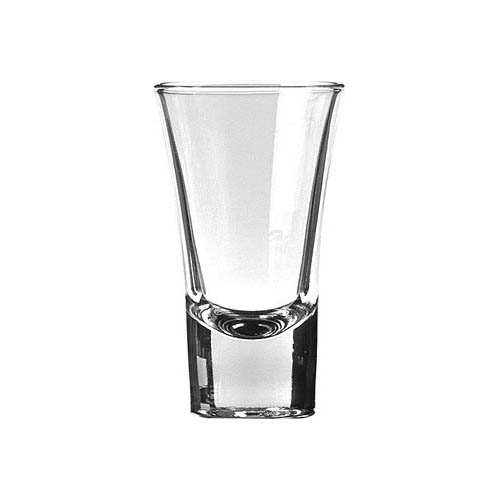 Flared top tot glass 6cl 85mm high Bulk packed