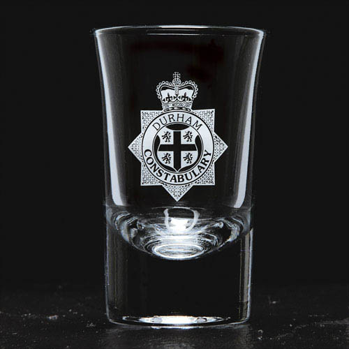 4 x flared top tot glasses