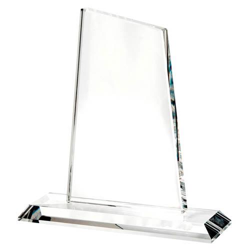 Large crystal peak trophy
