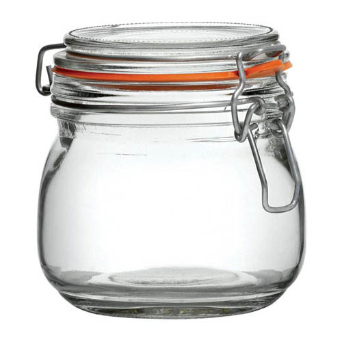 Preserve Jar 0.5ltr 105mm high bulk packed in 12's