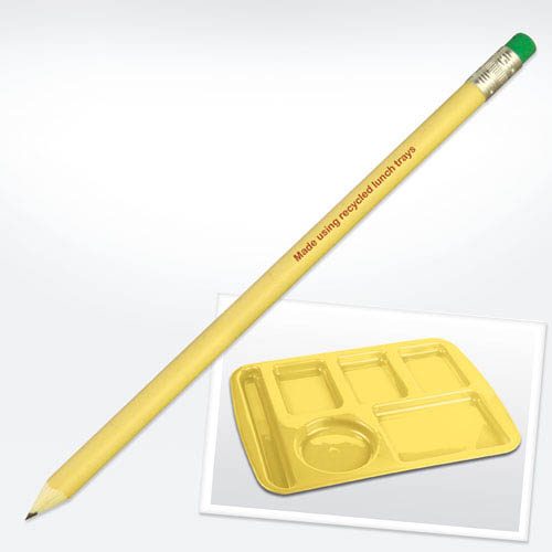 Recycled Lunchtray Pencil