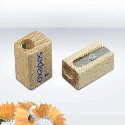 Wooden Pencils Sharpeners, Single