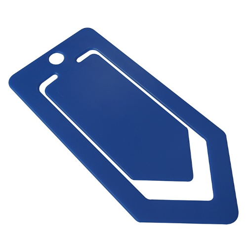 Recycled Large Paper Clip in blue
