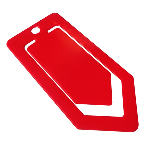 Recycled Large Paper Clip in red