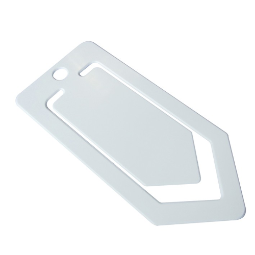 Recycled Large Paper Clip in white