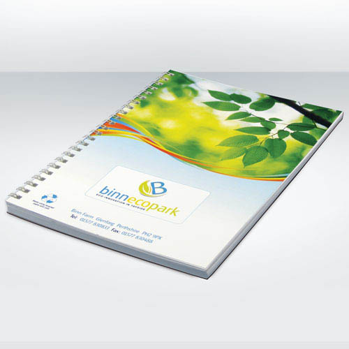 Recycled Notebook Full Colour A4