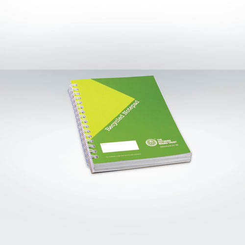 Recycled Notebook Full Colour A6