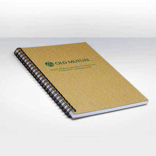 Recycled Natural Notebook A4
