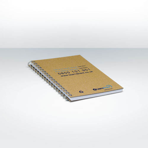 Recycled Natural Notebook A6