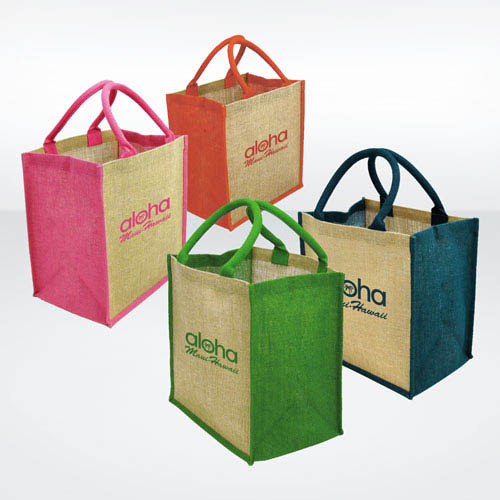 Brighton Coloured Jute Bags