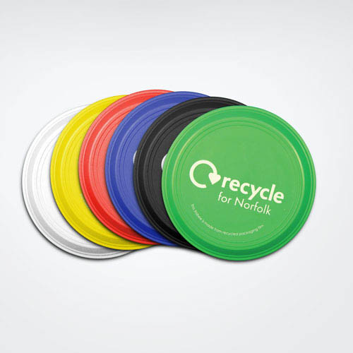 Recycled Frisbees, Small 125mm