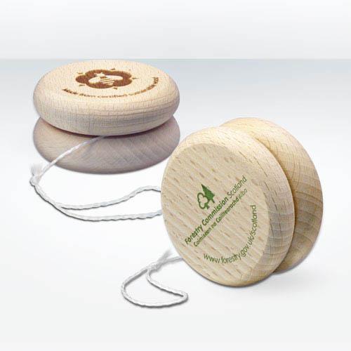 FSC Wooden Yoyos - Sustainable