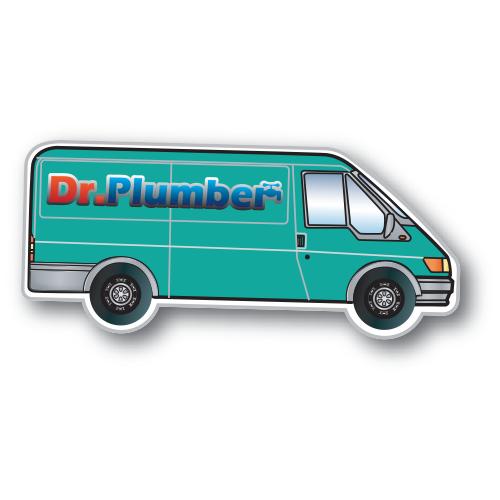 Flexible Fridge Magnet Van