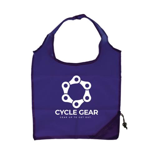 Capri - Foldaway Shopping Tote Bag in purple