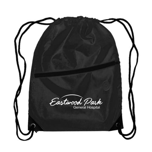 Berlin - Drawstring Backpack in black