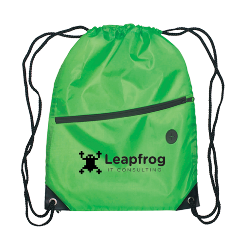 Berlin - Drawstring Backpack in green