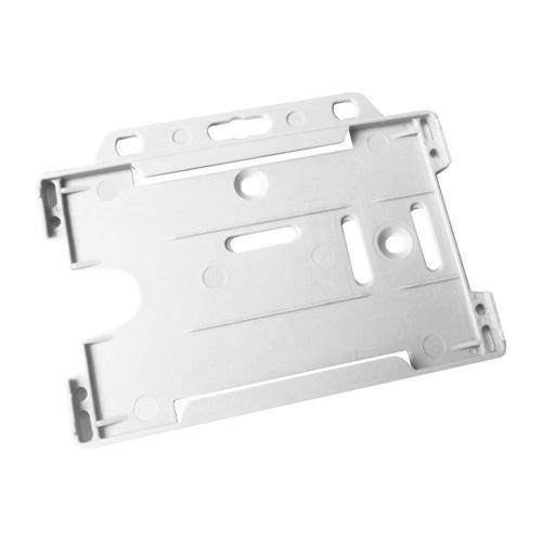 Cardholder Security Card Badge Holder in white