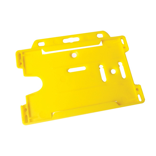 Cardholder Security Card Badge Holder in yellow