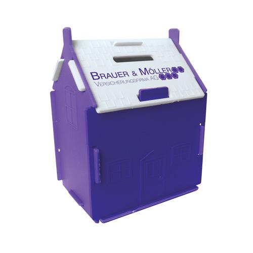 House Money Box in purple