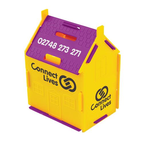 House Money Box in yellow