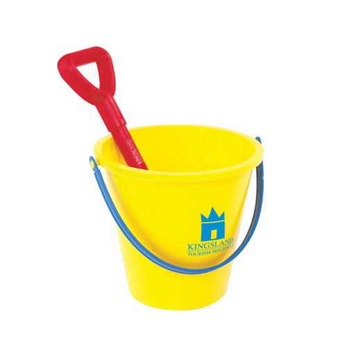 Bucket Spade in yellow