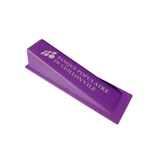 Door Stop Wedge in purple
