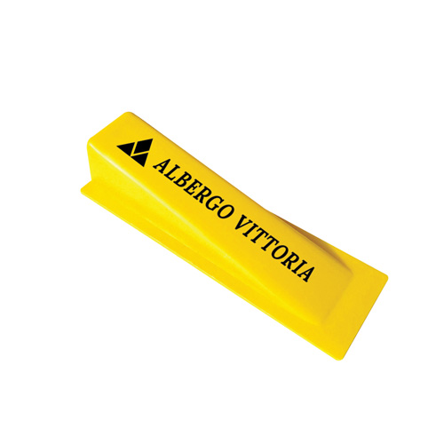 Door Stop Wedge in yellow